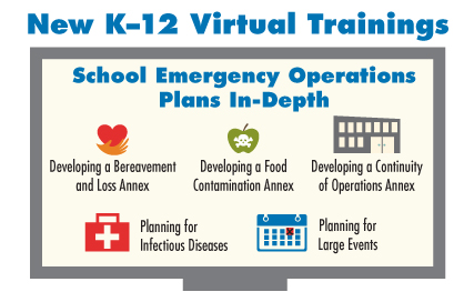 New K-12 Virtual Trainings